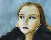 "Sadee B. Portrait, 10""x12"""