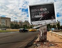 Broken case ad prints simulation