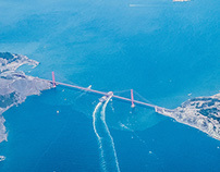 Aerial SF Bay