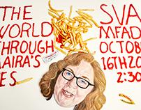 Maira Kalman SVA Studio Visit Poster