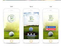 UI / UX Golf Club App & website