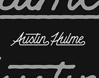 Austin Hulme Branding & Type Design