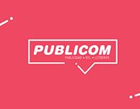 Publicom Rediseño de logotipo Panama