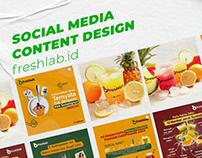 Freshlab Instagram Content Design