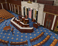 US Chamber of Deputies / 3D Scenery