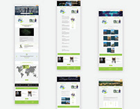 Global E.D.G.E Consultants website redesign