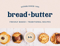 Bread+Butter - Bakery Branding