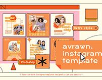 Avrawn Instagram Template