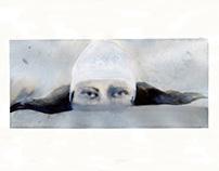 "Inktober ""Swimmers"""