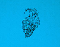 WHITE WALKER illustration