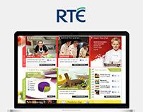 MasterChef Ireland - Webdesign Concept