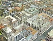 Makieta Warszawy 1939, Model of Warsaw city in 1939