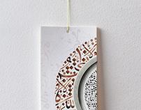 Internal calligraphy design