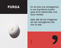 PURGA, Festival de Cine & Filosofía