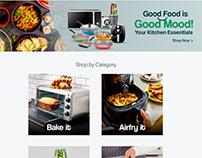 Cooking Festiv Landing Page