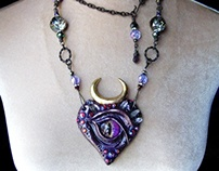 SECRET RITE Evil Eye Protection Amulet Necklace