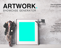 Artwork Showcase Generator