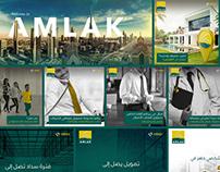 Amlak Social Media Designs