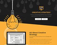Creative Strategy Development | Web Page Design