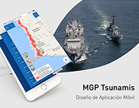 MGP Tsunamis – Mobile UI/UX Design