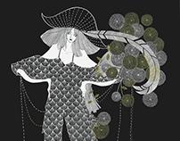 Fashion illustration / SPRING 2017 READY-TO-WEAR