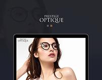 Prestige Optique Website