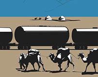 Notenstein La Roche // Schweizer Monat Illustrations