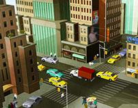 FDJ, Menez l'enquête, New York