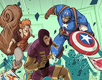 Marvel Action Avengers #2 Cover