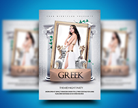 Greek Themed Flyer