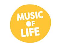 Music Of Life: Brand Identity