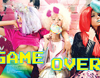 GAME OVER! Editorial in Volition Magazine, July 2016.