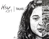 iksvy art talks - a podcast (Illustrations)