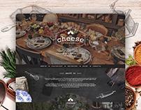 Cheese Responsive Website