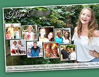 Senior High School Tribute Photo Collage