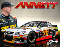 Northland Hero Card for Michael Annett