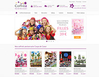 Webdesign E-commerce / E-shop : Serie 1