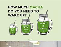 Tea Bar Monopage website
