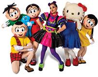 Turma da Mônica & Hello Kitty Musical Costume Design