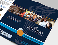Igniting Scholars Logo & Brochure Design