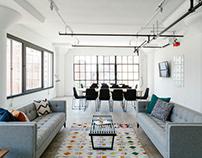 Creative workspace interior