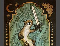 Page of Swords - Animal Tarot