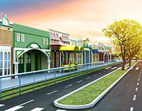 Projeto 3D - Escola Infantil em Campos/RJ