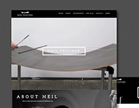 Neil Feather identity & portfolio website.