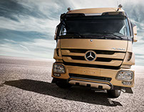 Mercedes Actros - Portable Kitchen