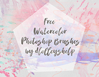 FREE WATERCOLOR PS BRUSHES