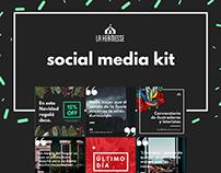 Social Media Kit for La Kermesse Home