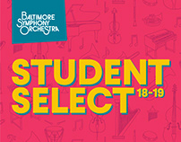Student Select, BSO 2018-19