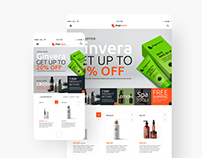Orgametics web store concepts