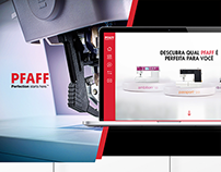 Site comparativo PFAFF